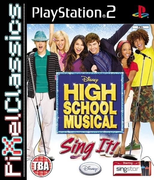 High School Musical: Sing It! High School Musical Sing it PS2 amp PS3 Buy at PixelClassics