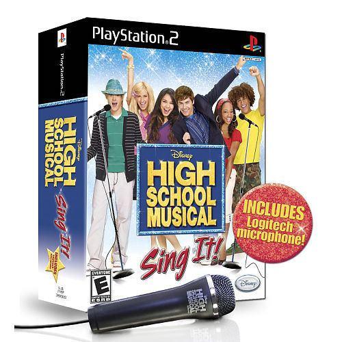 High School Musical: Sing It! My Family Fun PlayStation 2 High School Musical Sing It Bundle