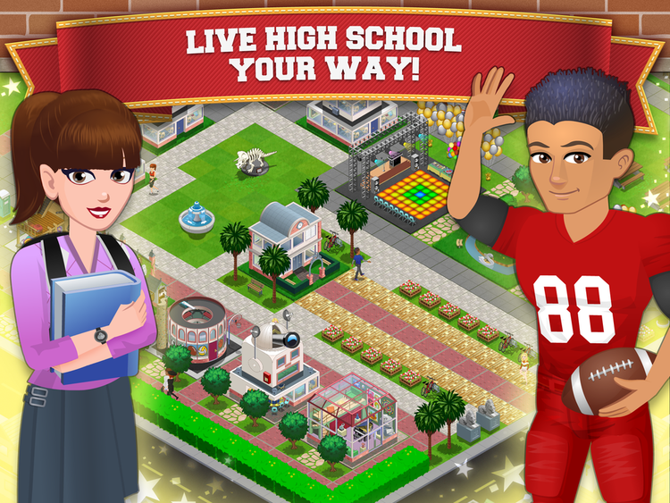 High School Story promoipad401png