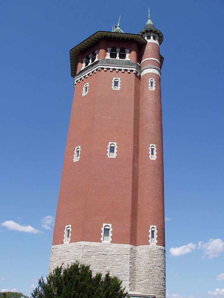 High Service Water Tower and Reservoir