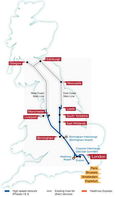 High Speed 2 UK appoints high speed rail Phase 2 consultants TunnelTalk