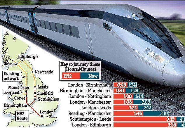 High Speed 2 HS2 rail line 87m over budget already due to consultant costs