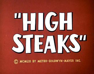 High Steaks movie poster