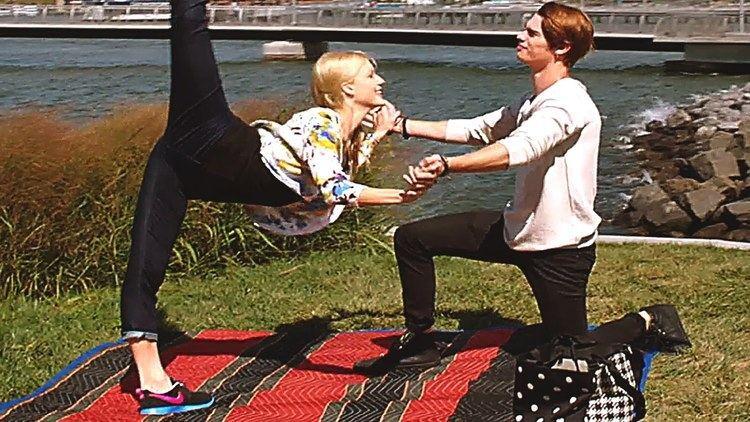 High Strung (2016 film) HIGH STRUNG Movie TRAILER Romance Dance 2016 YouTube