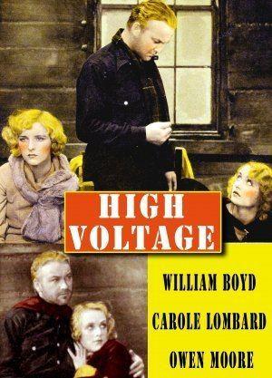 High Voltage (1929 film) VOLTAGE William Boyd CAROLE LOMBARD Owen Moore 1929 Talkie Film DVD