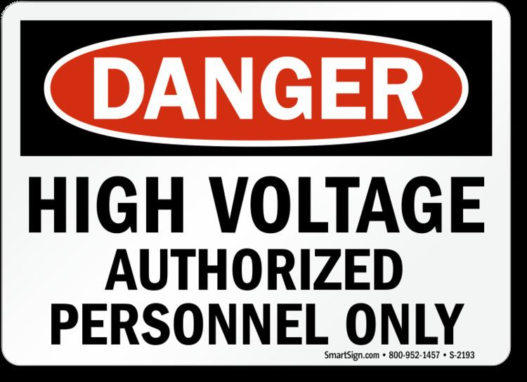 High voltage High Voltage Signs Fast Free Shipping from MySafetySign