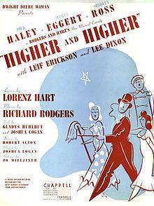 Higher and Higher (musical) httpsuploadwikimediaorgwikipediaenthumbd