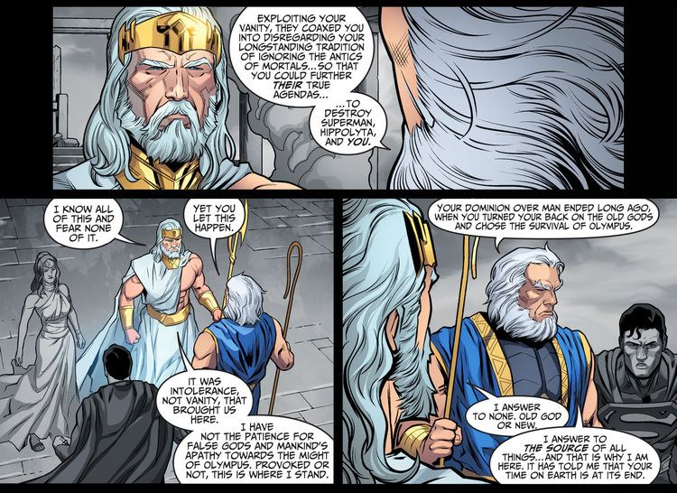 Highfather Highfather Faces Off With Zeus Comicnewbies