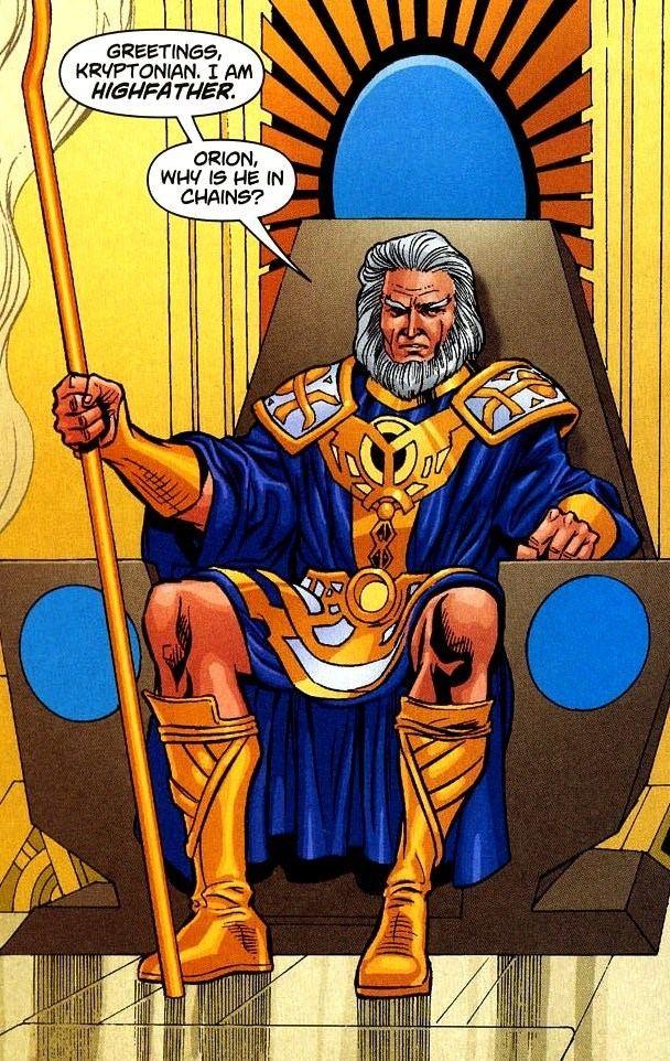 Highfather Zeus and Odin Marvel vs Darkseid and Highfather Battles Comic Vine