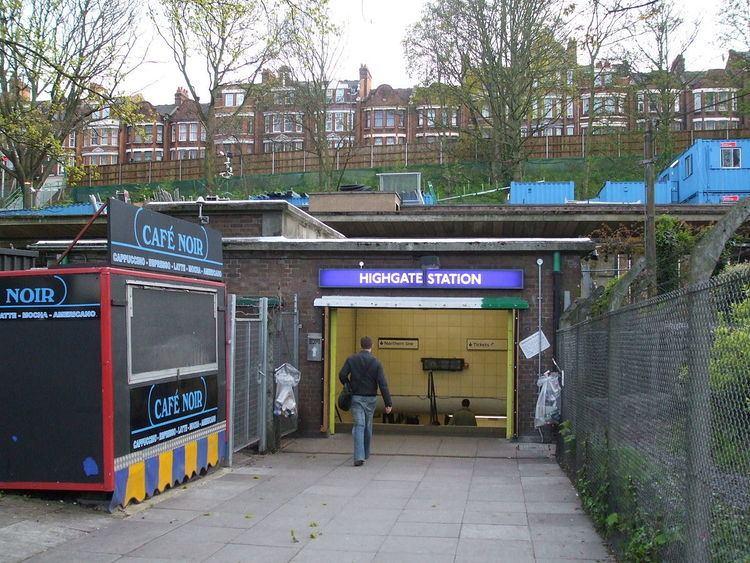 Highgate tube station