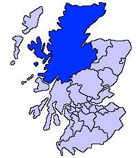 Highland Council wards and councillors 2003 to 2007