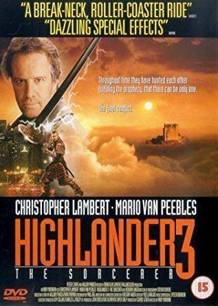 Highlander III: The Sorcerer Highlander 3 The Sorcerer DVD 1994 Amazoncouk Christopher