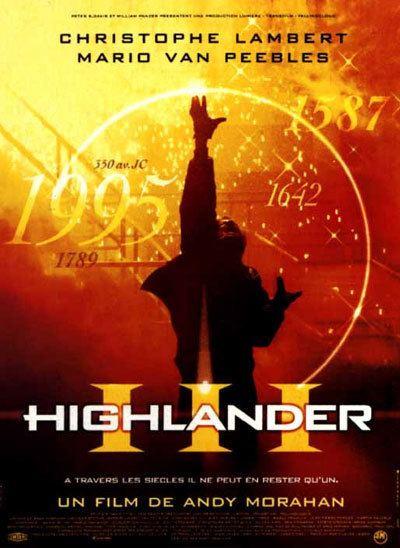 Highlander III: The Sorcerer Highlander III The Sorcerer 1994 movie poster 1 SciFiMovies