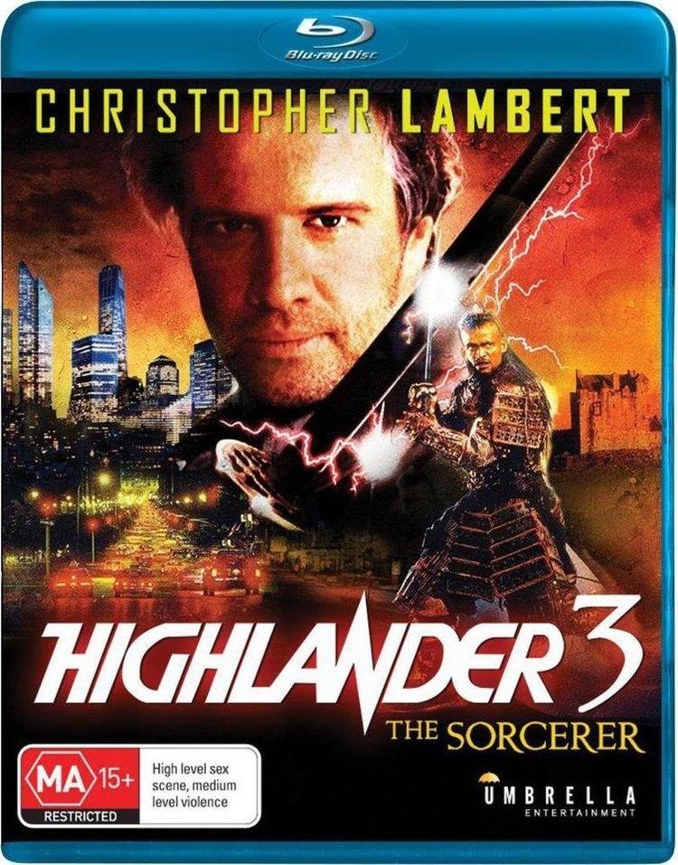 Highlander III: The Sorcerer Highlander 3 The Sorcerer Bluray Australia