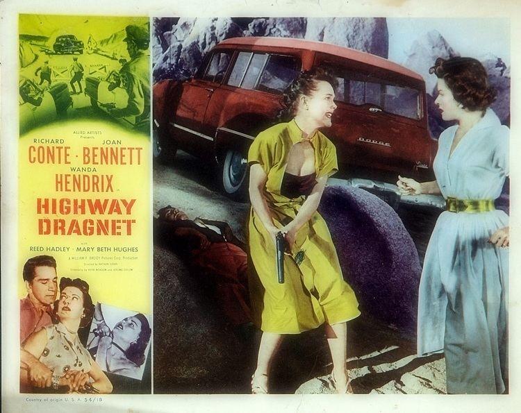 Highway Dragnet Highway Dragnet 1954 Film Noir of the Week