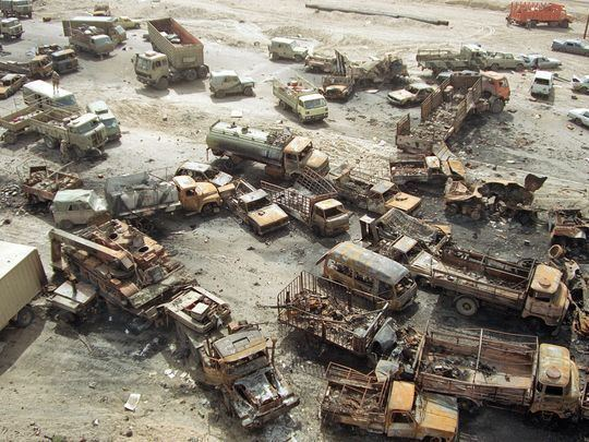 Highway of Death Highway of Death39 still stands out for one Gulf War veteran