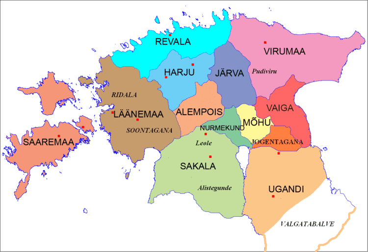 Hiiu County in the past, History of Hiiu County