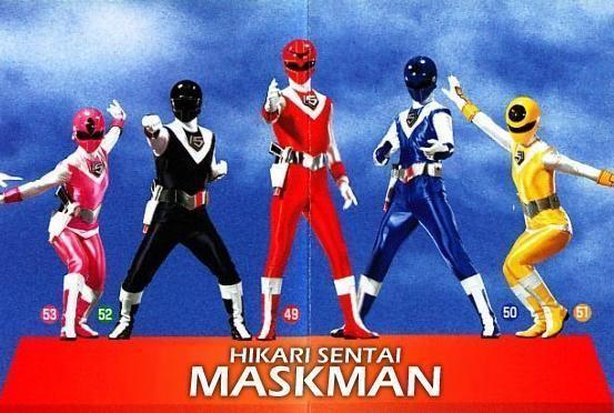 Hikari Sentai Maskman - Alchetron, The Free Social Encyclopedia