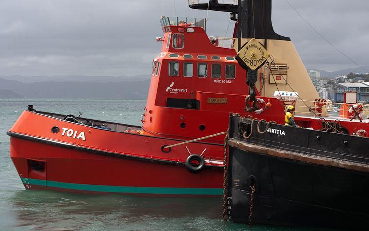 Hikitia Hikitia return from Refit 2009