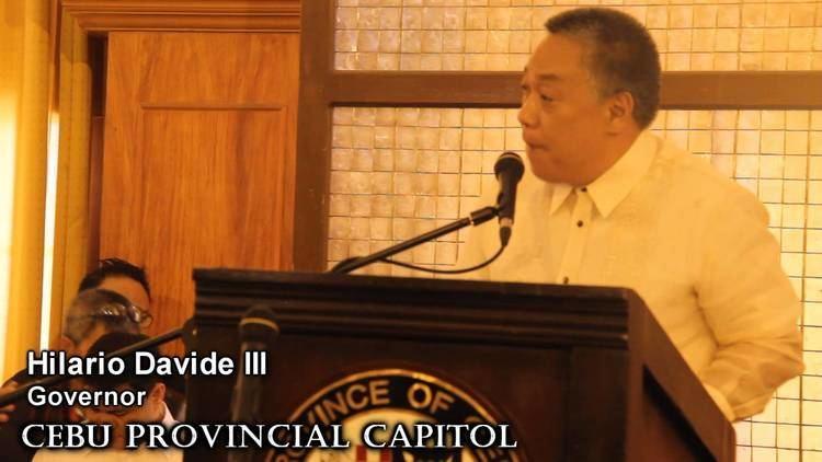 Hilario Davide III Hilario Davide III Mike Rama take oath of office YouTube