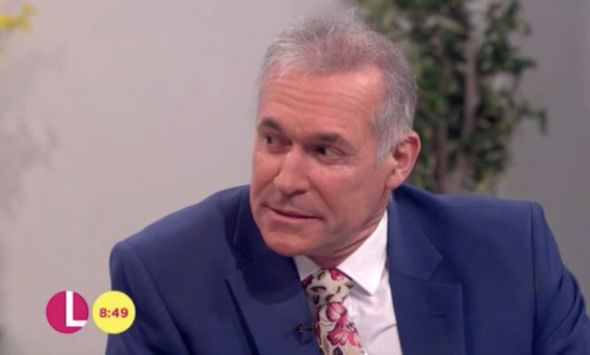 Hilary Jones (doctor) Lorraine Kelly forced to apologise after Dr Hilary Jones swears on