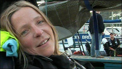 Hilary Lister BBC NEWS UK England Disabled sailor achieves record