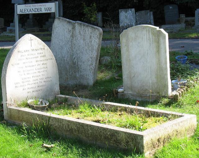 Hilary Minster Hilary Minster 1945 1999 Find A Grave Memorial