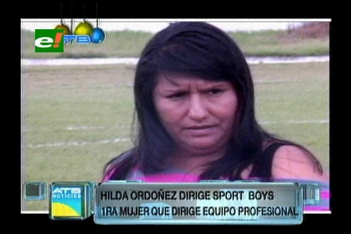 Hilda Ordoñez Hilda Ordoez la primera mujer DT ejutv