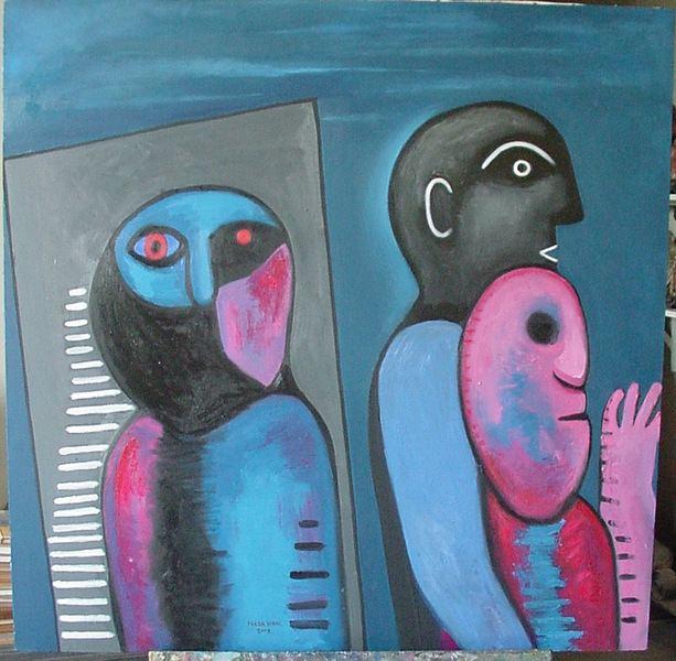 Hilda Vidal Valdés Sin ttulo Original Art by Hilda Vidal Valds PicassoMio