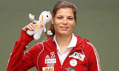 Hilde Drexler Olympia Judoka Hilde Drexler scheitert in Runde zwei