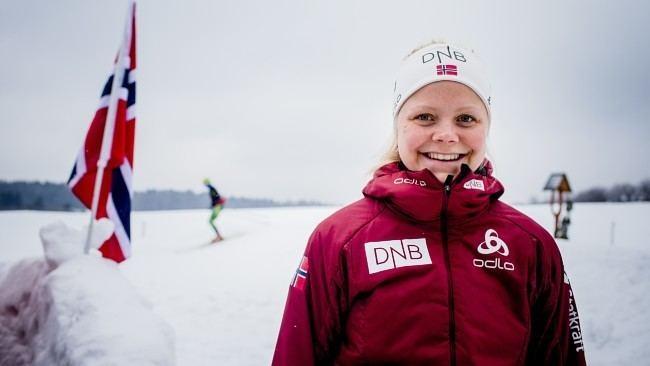 Hilde Fenne Hilde Fenne blir tidenes yngste NRK Sport