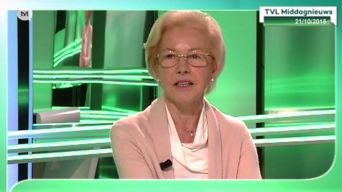 Hilde Houben-Bertrand Hilde HoubenBertrand geeft de fakkel door bij Een Hart voor Limburg