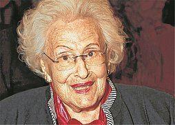 Hilde Zadek Man muss die Welt von allen Seiten ansehen Wiener Zeitung Online