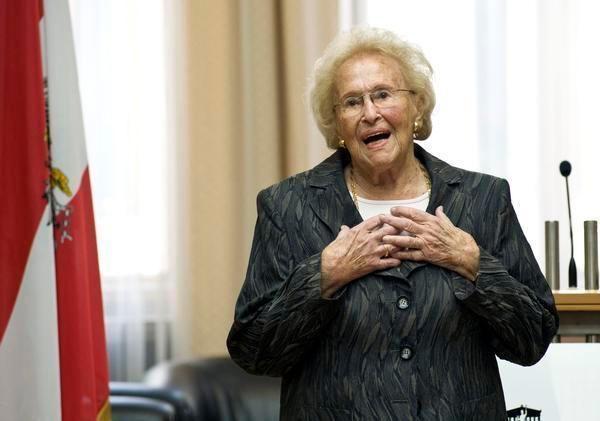 Hilde Zadek Renowned opera singer Hilde Zadek in Vienna going strong at 95 The