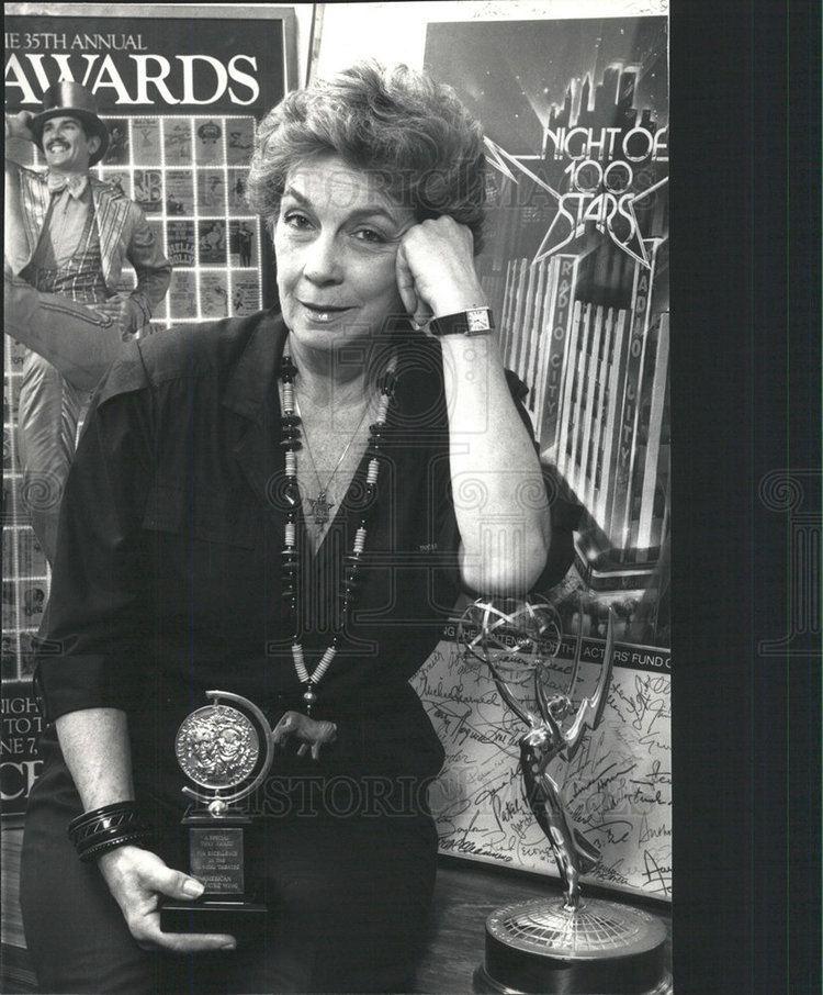 Hildy Parks 1986 Press Photo Hildy Parks Actress Writer Tony Award New York
