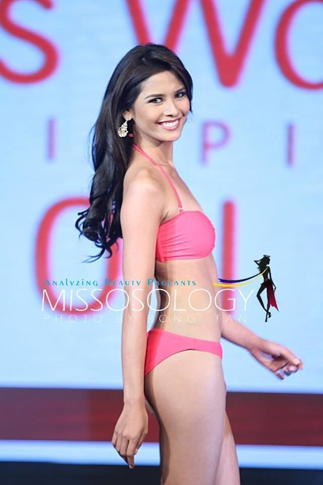 Hillarie Parungao Miss World Philippines 2015 candidates in swimsuit