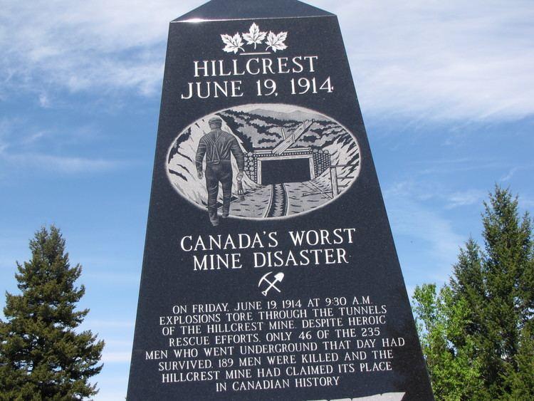 Hillcrest mine disaster Frank Slide and Hillcrest Mine Disaster adventureswithsadie