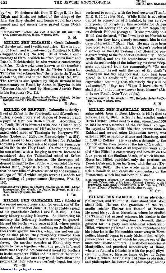 Hillel ben Samuel HILLEL BEN SAMUEL JewishEncyclopediacom