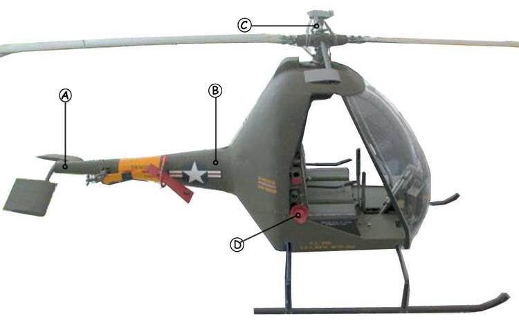 Hiller YH-32 Hornet Hiller Hornet Aircraft