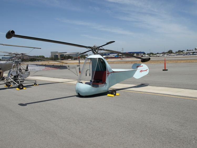 Hiller YH-32 Hornet Helicopter Hiller YH32 Hornet Specifications A photo