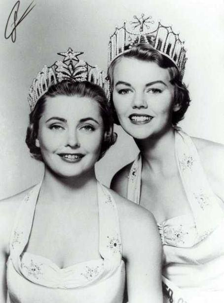 Hillevi Rombin BEAUTY Incorporated 1955 Miss Universe Hillevi Rombin of Sweden
