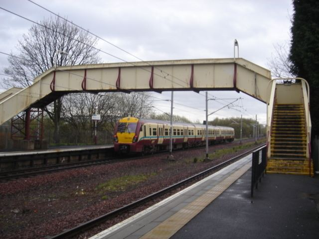 Hillington East railway station