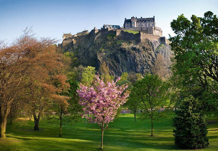 Hills in Edinburgh