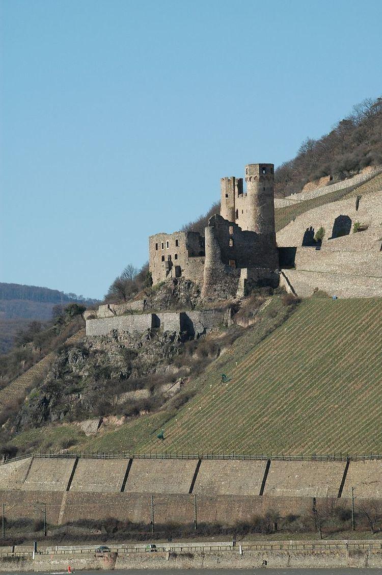 Hillside castle