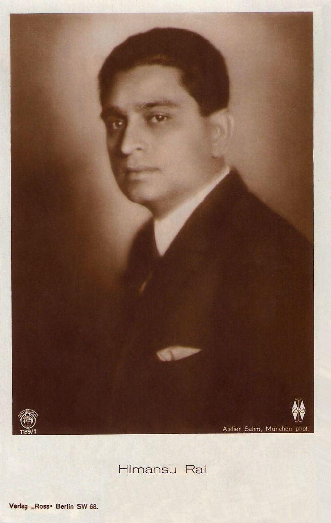 Himanshu Rai Portrait of Himanshu Rai one of the pioneers of Indian