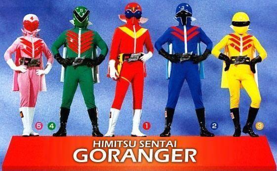 Himitsu Sentai Gorenger Himitsu Sentai Goranger by Winkels on DeviantArt