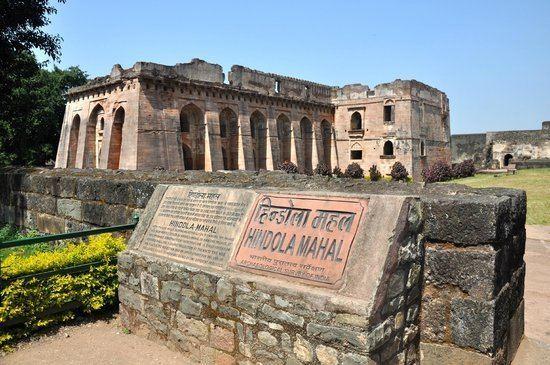 Hindola Mahal history Picture of Hindola Mahal Swing Palace Mandu TripAdvisor
