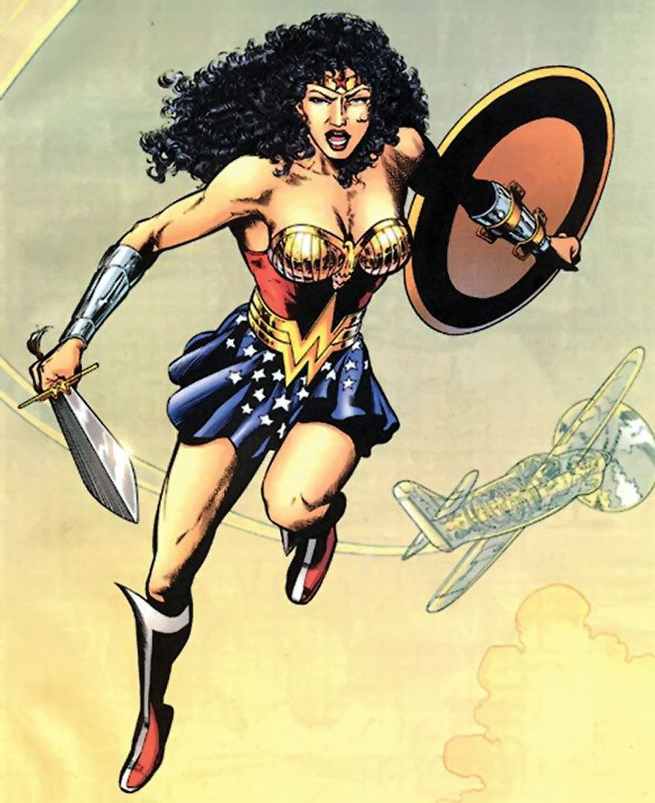 Hippolyta (DC Comics) Wonder Woman DC Comics Queen Hippolyta JSA Profile