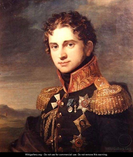 Hippolyte Charles Hippolyte Charles Portrait Portrait of Lt General George Dawe