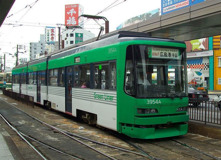 Hiroden Streetcar Route 5